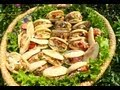 Stuffed Batbout with hot dogs-بطبوط معمر /Batbout Farcis aux saucisses