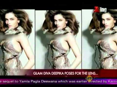 Deepika's Hot Photoshoot For Grazia Magazine