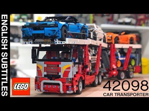 Обзор 42098 LEGO Technic Car Transporter 2019 / АВТОВОЗ ЛЕГО
