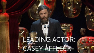 Casey Affleck wins Best Leading Actor BAFTA - The British Academy Film Awards 2017 - BBC One