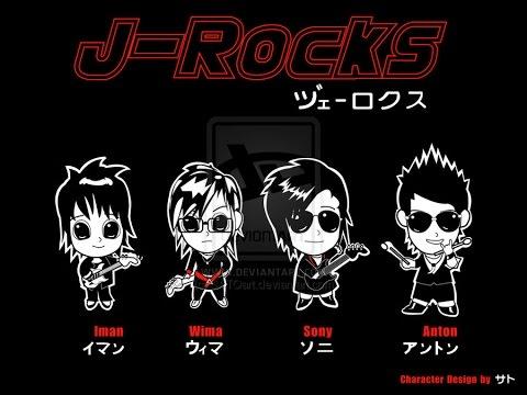 J-Rocks - fallin in love karaoke midi+lirik