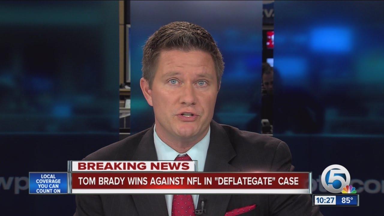 Tom Brady beats NFL in 'Deflategate' court case, judge nullifies league's 4-game suspension
