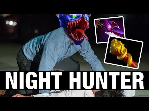 NIGHT HUNTER - 7ckngMad Plays Night Stalker - Dota 2