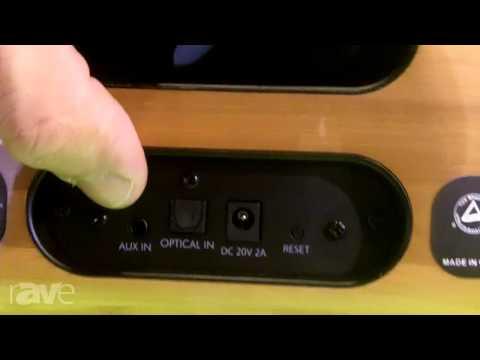 CEDIA 2013: AudioXperts Brings the EVA Blu Portable Bluetooth Speaker