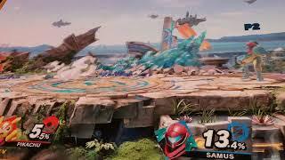 Super Smash Bros Ultimate - Pikachu (NAKAT) vs Samus (False) Grand Finals