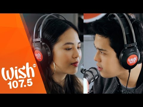 Janella Salvador and Elmo Magalona perform Be My Fairytale LIVE on Wish 107.5 Bus