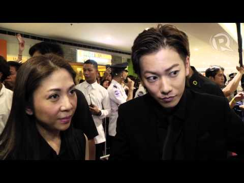 Rurouni Kenshin Star Takeru Satoh At Manila Premiere