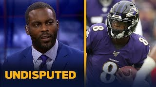 Michael Vick on why watching Lamar Jackson dominate the NFL has been 'shocking' | NFL | UNDISPUTED