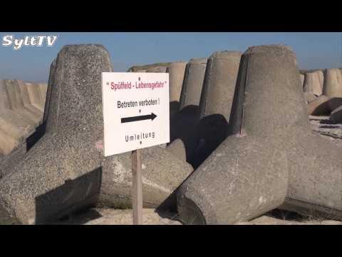 Sandvorspülungen für den Sylter Küstenschutz