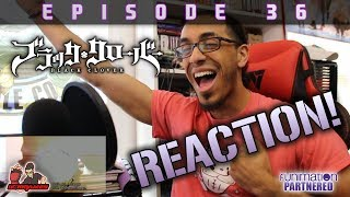 Black Clover Ep. 36 REACTION / REVIEW!! | HouseTop Edition