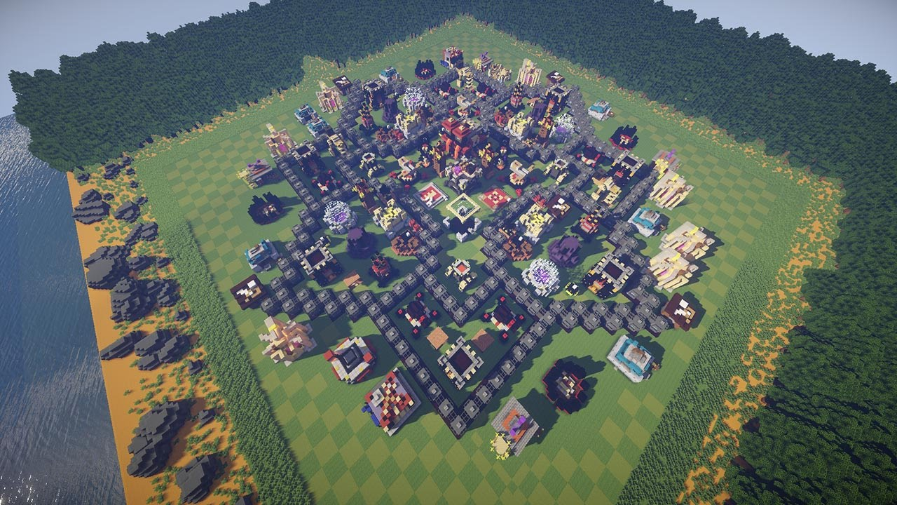 Clash Of Clans In Minecraft Maxed Out Base W Download