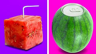 UNUSUAL HACKS WITH HEALTHY FOOD || 5-Minute Decor Tricks With Fruits And Veggies!