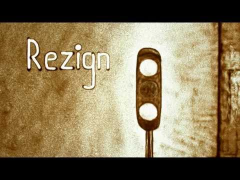 Sand animation film REZIGN by David Myriam