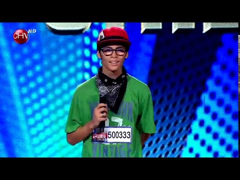 Javier Escudero el bailarín de Popping que impresionó - TALENTO CHILENO 2014