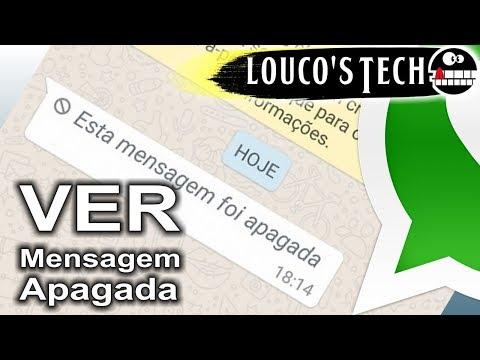 Como ver MENSAGEM APAGADA do Whatsapp (SEM APP) | Louco's Tech