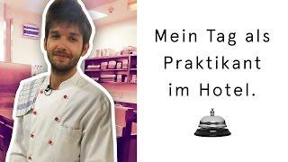 Ein Tag arbeiten im Hotel (Rezeption, Service, Küche) | Michaels Praktikum #3