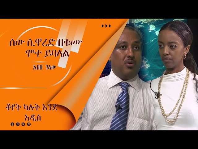 LTV WORLD:LTV SHOW: Interview With Abebe Gelaw
