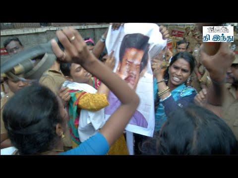 Transgenders' Agitation Against Director Shankar And Censor Board   Ta...