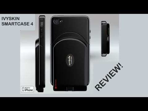 IvySkin SmartCase 4 (w/ Quattro 4) Battery Case Review for the iPhone 4