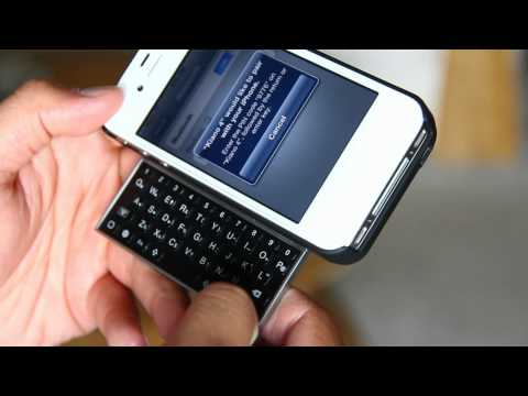 Kiano 4:  Worlds Thinnest iPhone Keyboard Case
