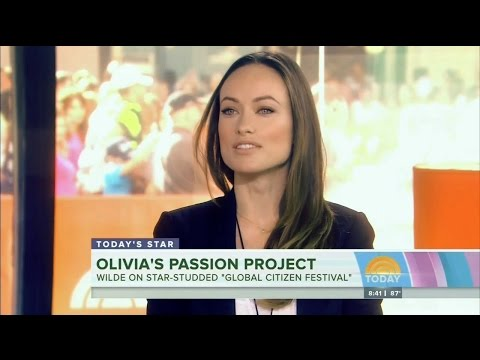 Olivia Wilde's Today Show Interview - August 11, 2014