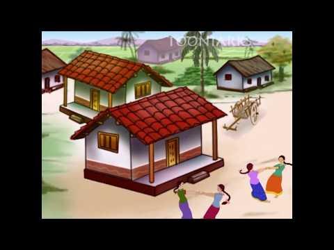 Telugu Rhymes|chinnari Chitti Geethalu-vol-02| Oppula Kuppa Vayyari Bhama |by Tooniark video
