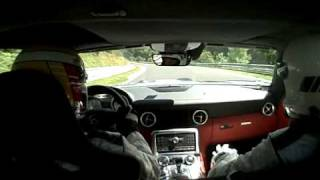 Sls At The Ring Mercedes Benz Sls Amg Laps Nurburgring