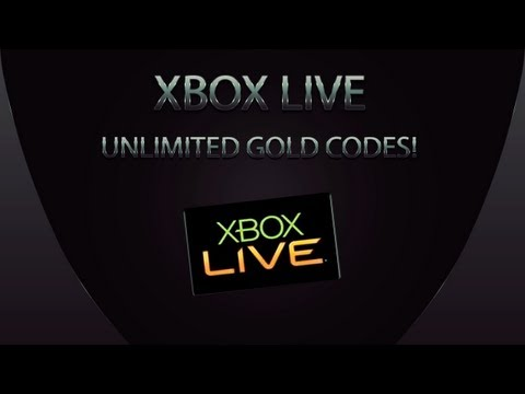 How to get Unlimited Xbox LIVE 14 Day Gold Membership Codes! (FREE) (EASY) #1