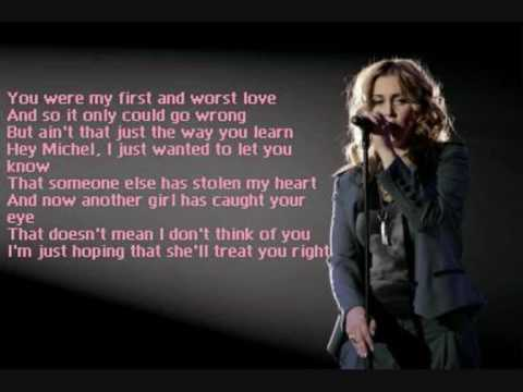anouk - michel + lyrics!