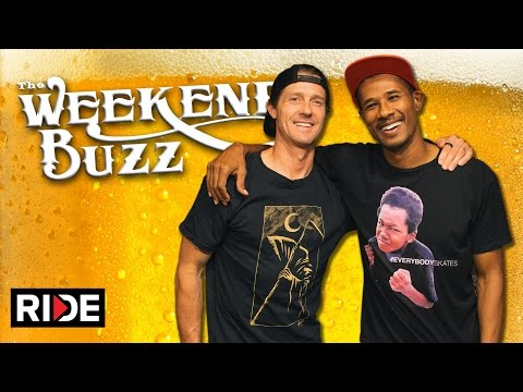 Danny Way & Alphonzo Rawls: McGill's, Deadly Gnats & a New Part? Weekend Buzz ep. 110 pt. 1