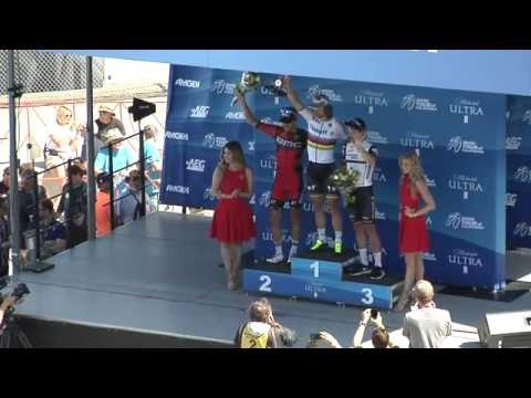 Dave Potter at Amgen Tour of California Awards Ceremony