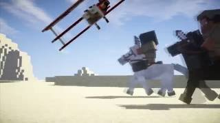 BATTLEFIELD 1 Trailer in MINECRAFT