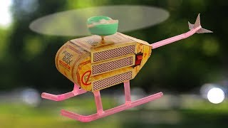 How to Make a Helicopter - Matchbox Helicopter - DIY Helicopter