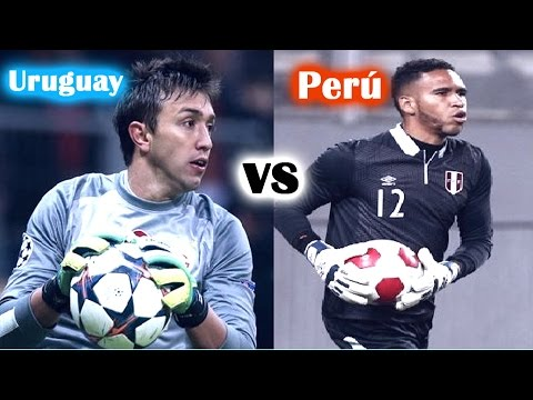 Uruguay vs Perú | Fernando Muslera vs Pedro Gallese | Best Saves | Eliminatorias Rusia 2018