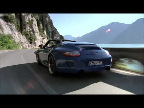 2011 Porsche 911 Speedster in Action