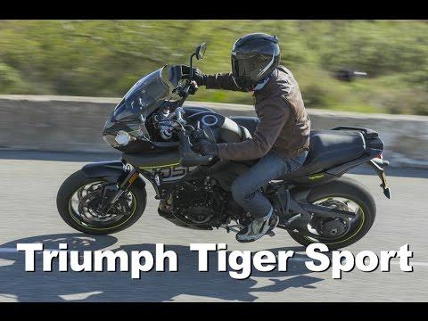 2016 Triumph Tiger Sport 1050 Review
