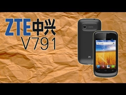 ZTE V791 - Análisis en Español HD