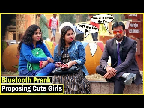 Bluetooth Prank - Proposing Cute Girl's #4 - Epic Reactions - Pranks In India 2019| By TCI
