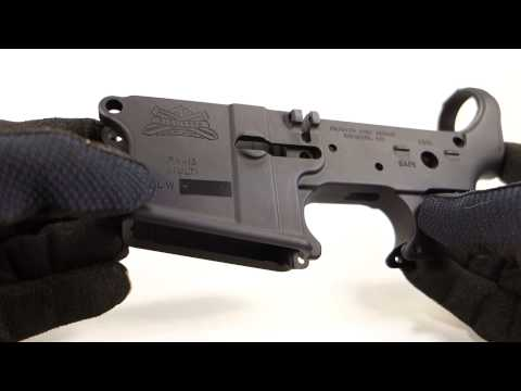 Palmetto State Armory blemished lower AR15 receiver review - PSA
