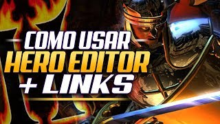 Como Usar HERO EDITOR + LINKS Descarga - Diablo II Lord of Destruction Tutorial