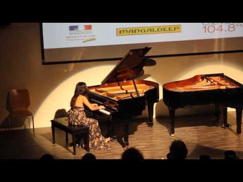 Debussy Clair de lune & Chopin Ballade in G Minor (5.10) Alexandra Minoza #Fetedelamusique