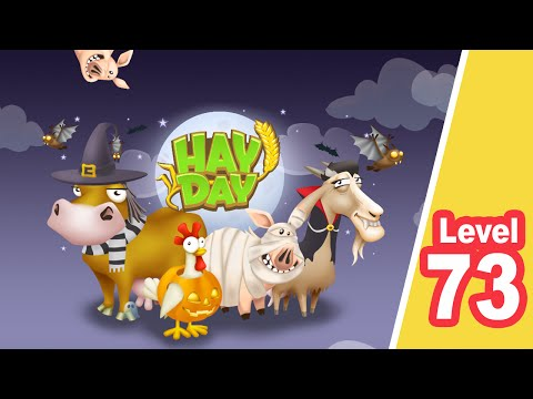 HAY DAY •• Level 73 •• Halloween - iPad / iPhone / Android Game - SUBSCRIBE