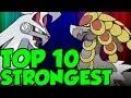 TOP 10 NEW STRONGEST POKEMON In Pokemon Ultra Sun and Pokemon Ultra Moon! Best 7th Gen Pokemon