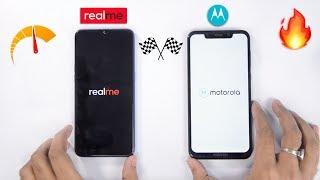 Realme 2 Pro vs Moto One Power Speedtest Comparison & RAM Management [AMAZING] 🔥