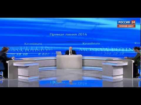 Сноуден в Прямой линии с Владимиром Путиным