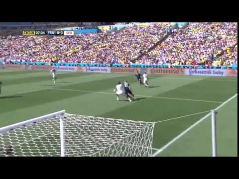 GERMANY VS FRANCE 2014 WORLD CUP QUARTER FINALE 1 0
