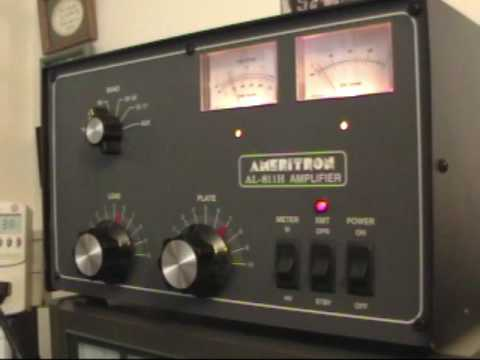 Ameritron Al-811H Linear Amplifier Demonstration by K1OIK
