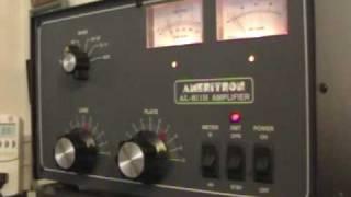 Ameritron Al-811H Linear Amplifier Demonstration by K1OIK