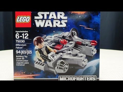 LEGO Star Wars Microfighters MILLENNIUM FALCON: EmGo Builds Stuff