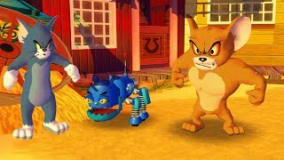 Tom and Jerry in War of the Whiskers - Tom vs Jerry vs RoboCat - Tom & Jerry cartoon game